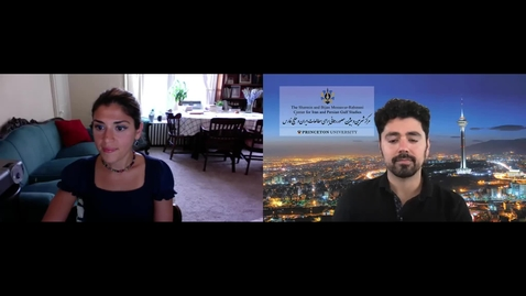Thumbnail for entry Filmmaking in a Foreign Land: A Conversation with Prof. Anahita Ghazvinizadeh
