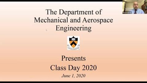 Thumbnail for entry MAE Class Day 2020