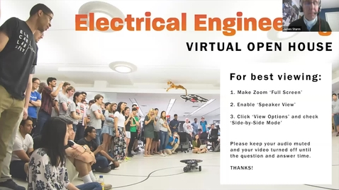 Thumbnail for entry EE Open House - Trimmed for Princeton Preview