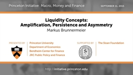 Thumbnail for entry PRINCETON INITIATIVE - Liquidity Concepts: Amplification, Persistence and Asymmetry
