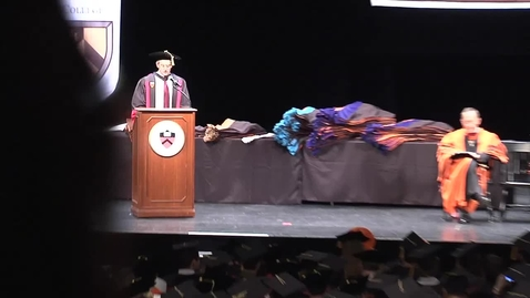 Thumbnail for entry Hooding Ceremony 2012