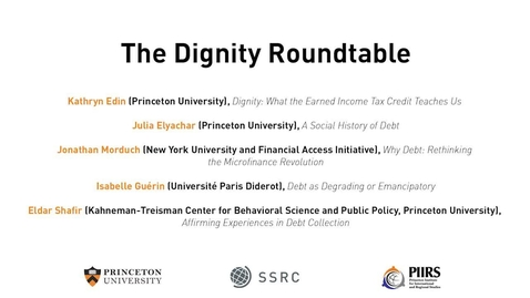 Thumbnail for entry The Dignity & Debt Network Conference - The Dignity Round Table