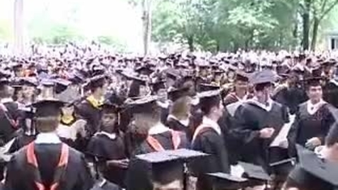Thumbnail for entry Princeton University's 257th Commencement