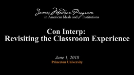 Thumbnail for entry Con Interp: Revisiting the Classroom Experience