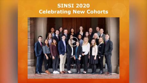 Thumbnail for entry SINSI 2020 Celebrating New Cohorts