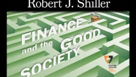 Thumbnail for entry Finance and the Good Society