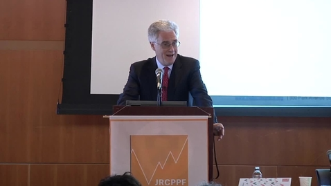 Thumbnail for entry Lord Adair Turner - Keynote Address - JRCPFF 5th Annual Conference