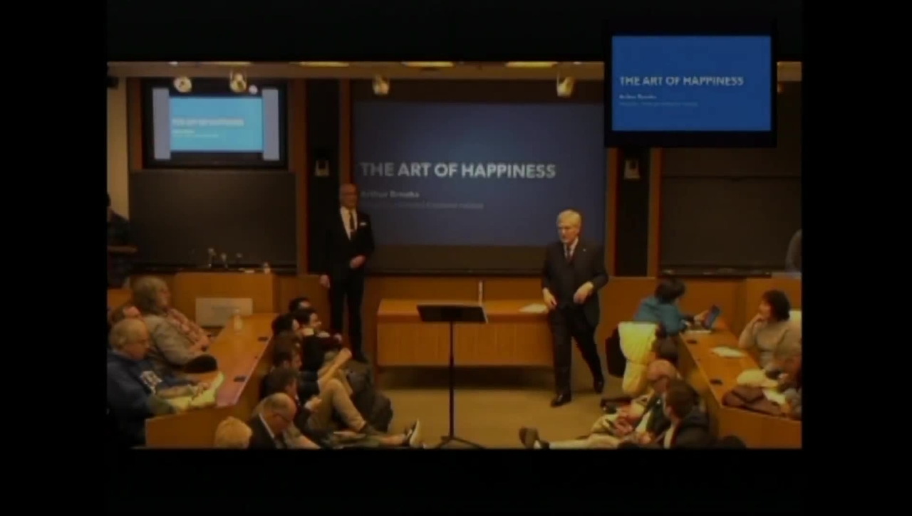 "Dr. Arthur C. Brooks P20 on ""The Art of Happiness"""