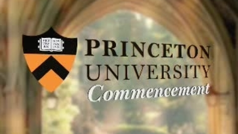 Thumbnail for entry Princeton University's 262nd Commencement