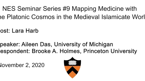 Thumbnail for entry Near Eastern Studies Seminar #9