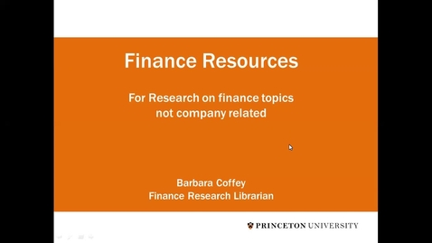 Thumbnail for entry JIW Finance Not Company Based Data Resources