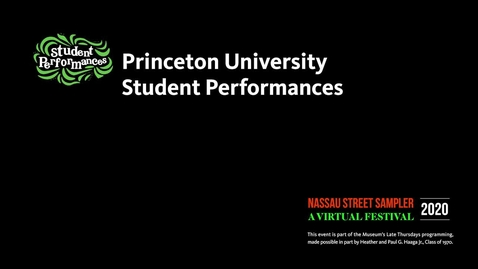 Thumbnail for entry Nassau Sampler - Student Performances