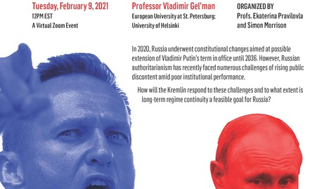 Thumbnail for entry Challenges to Russian Authoritarianism: Is Putin Forever?