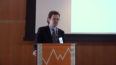 """Thumbnail for entry JRCPPF Fourth Annual Conference - """"A Model of Secular Stagnation"""""""