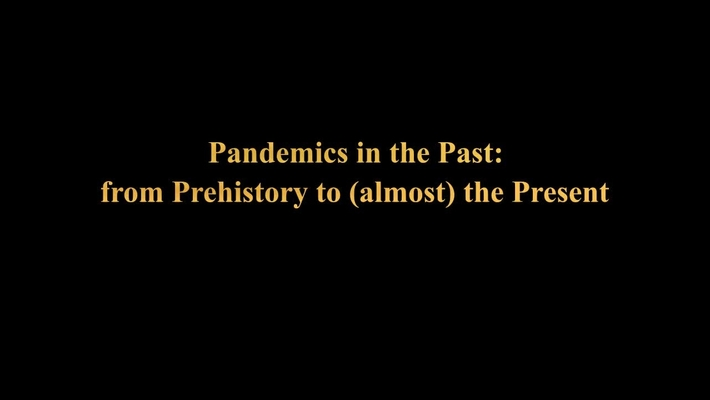 Pandemics in the Past: from Prehistory to (almost) the Present  - The Story of Pandemics in Scholarship and Popular Culture, 1890-2020 - Eisenberg and Mordechai