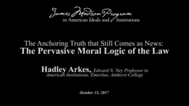Thumbnail for entry The Anchoring Truth that Still Comes as News: The Pervasive Moral Logic of the Law