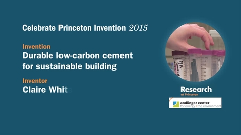 Thumbnail for entry Celebrate Princeton Invention 2015 Claire White