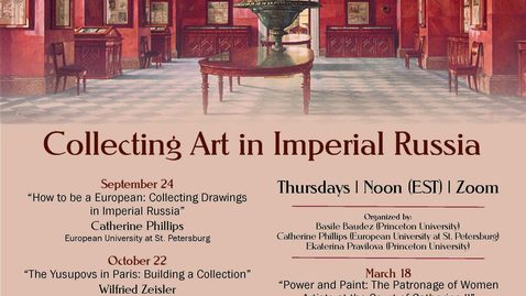 Thumbnail for entry How to be a European: Collecting Drawings in Imperial Russia