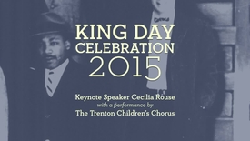 Thumbnail for entry 2015 Martin Luther King Day Celebration