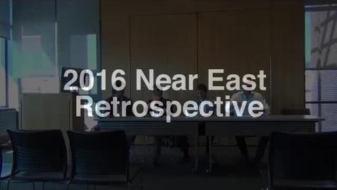 Thumbnail for entry Near Eastern Retrospective
