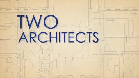 Thumbnail for entry Two Architects