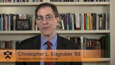 Thumbnail for entry President Eisgruber: PreRead to Pre-Orientation