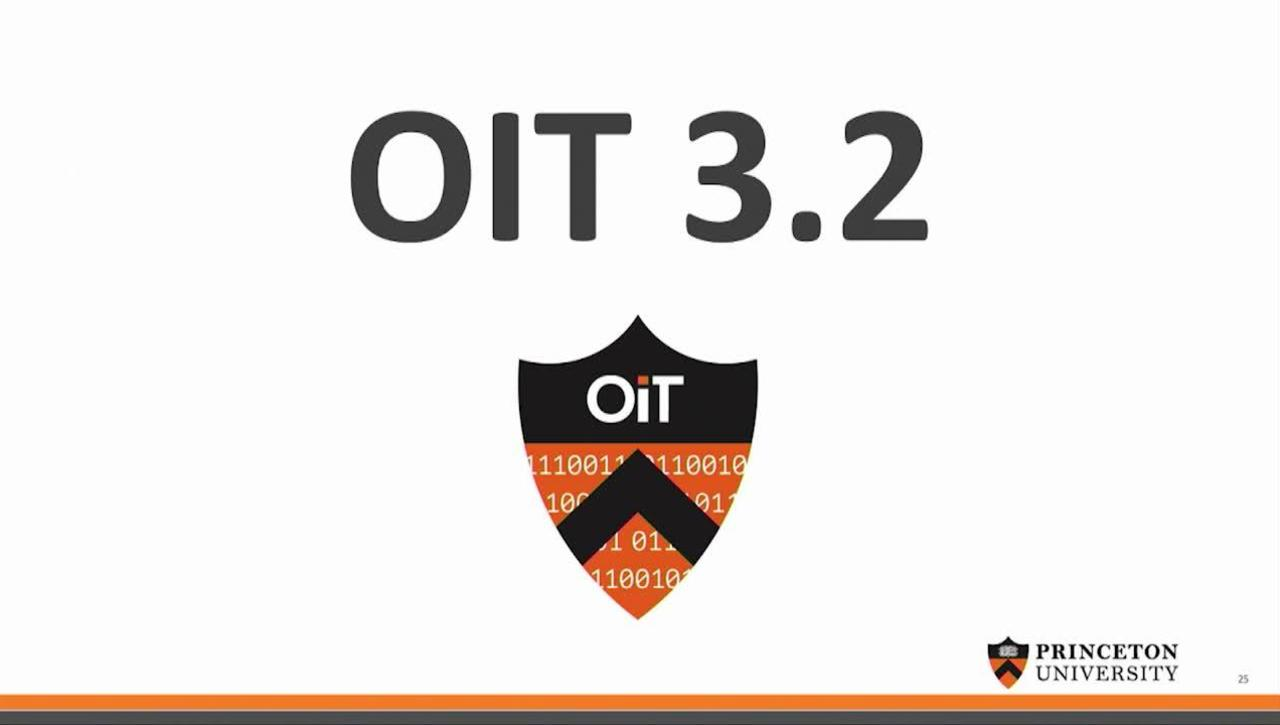 All OIT Meeting - October 26, 2018