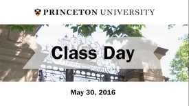 2016 Class Day with guest speaker Jodi Picoult '87
