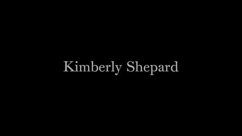 Thumbnail for entry Porter Ogden Jacobus Fellow 2014-2015 - Kimberly Shepard