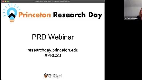 Thumbnail for entry PRD 2020 Webinar: Day 1