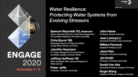 Thumbnail for entry Water Resilience: Protecting Water Systems from Evolving Stressors