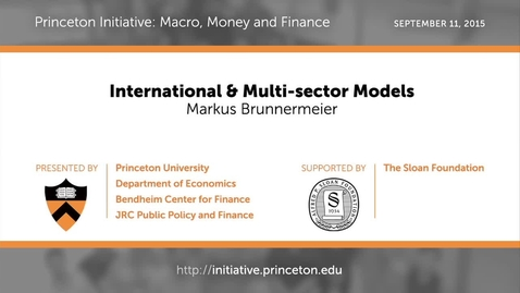 Thumbnail for entry PRINCETON INITIATIVE International & Multi-sector Models