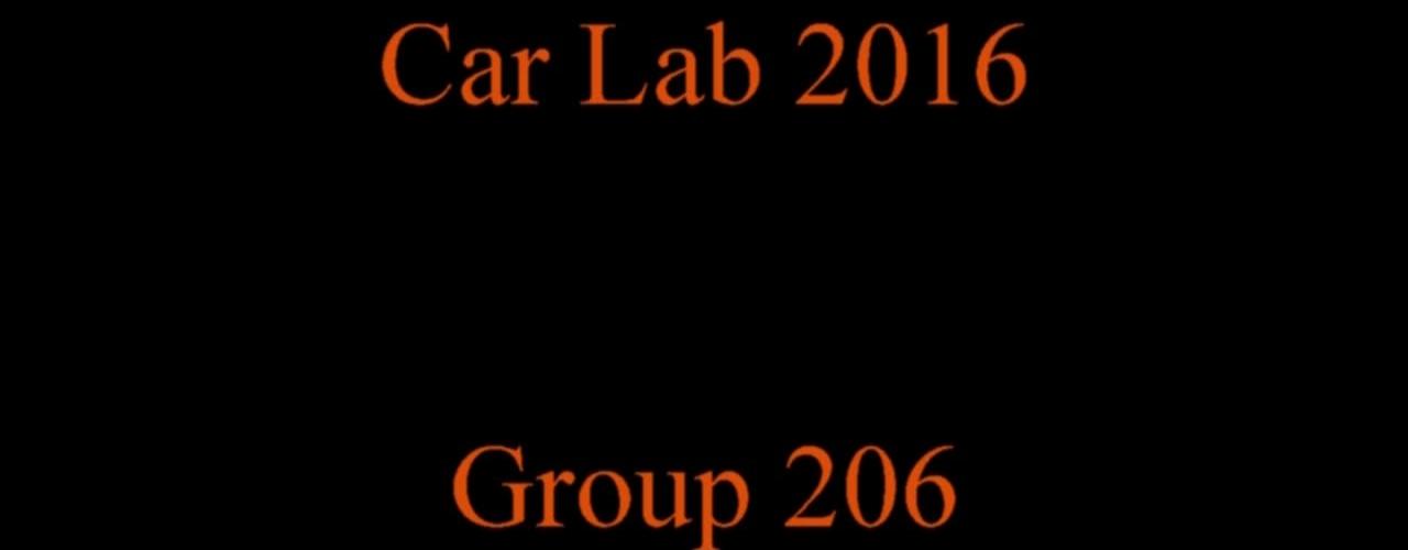 Carlab 2016 Group 206