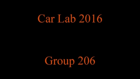Thumbnail for entry Carlab 2016 Group 206