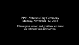 Thumbnail for entry VeteransDay2018
