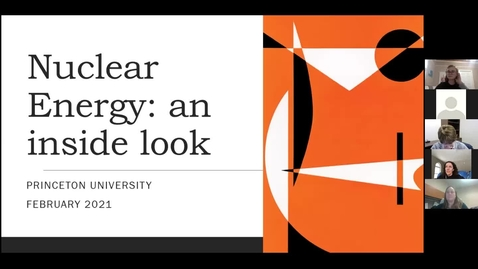 Thumbnail for entry At the Core of the Reactor: A Conversation with Experts in the Nuclear Landscape (PUEA)