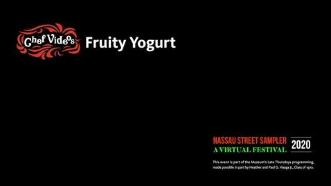 Thumbnail for entry Nassau Sampler - Fruity Yogurt