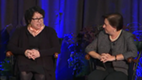 Thumbnail for entry A Conversation with Sonia Sotomayor '76 and Elena Kagan '81, Associate Justices of the Supreme Court of the US