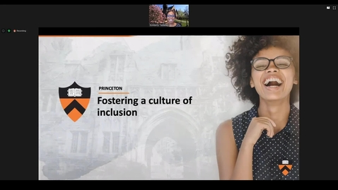 Thumbnail for entry Fostering a Culture of Inclusion for Employees [Part 2 - Recording]