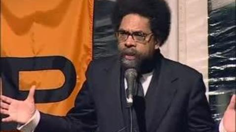 Thumbnail for entry Concluding address by Cornel West *80