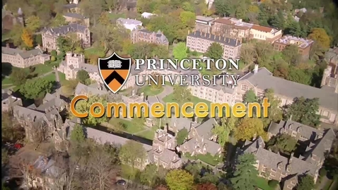 Thumbnail for entry Princeton University's 265th Commencement