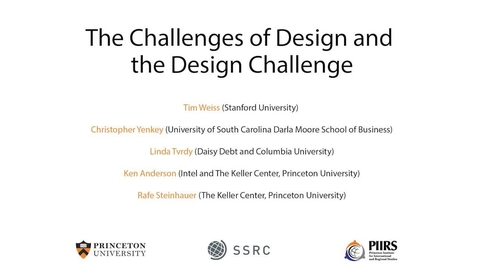 Thumbnail for entry The Dignity & Debt Network Conference - The Challenges of Design and the Design Challenge