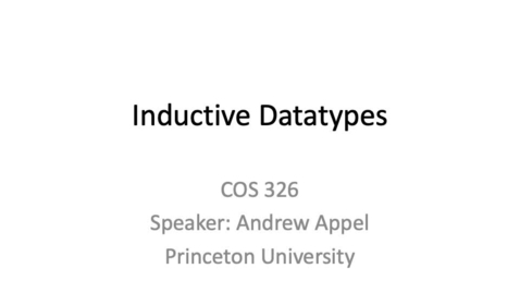 Thumbnail for entry cos326-2020-05-02-inductive-data-types