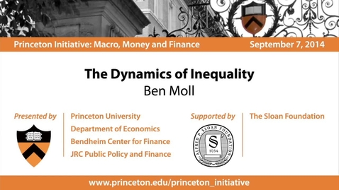Thumbnail for entry The Dynamics of Inequality