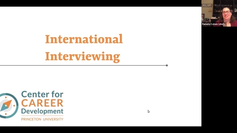 Thumbnail for entry Interviewing with International Employers