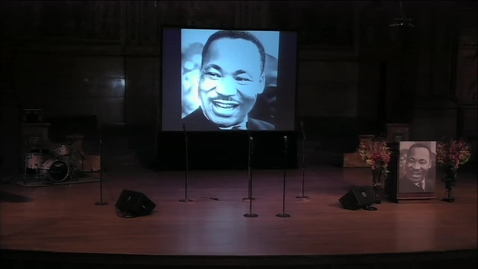 Thumbnail for entry Martin Luther King Jr. Day 2016