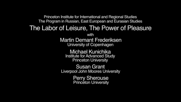 The Labor of Leisure, The Power of Pleasure