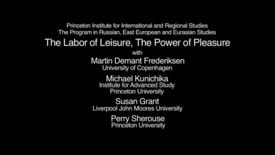Thumbnail for entry The Labor of Leisure, The Power of Pleasure