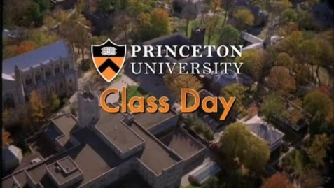 Thumbnail for entry Class Day 2011 with guest speaker Brooke Shields