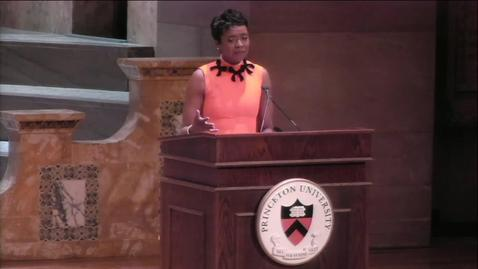 Thumbnail for entry Woodrow Wilson Award, Mellody Hobson '91, Alumni Day 2/23/19